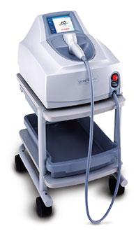 Equipo laser tratamiento depilación